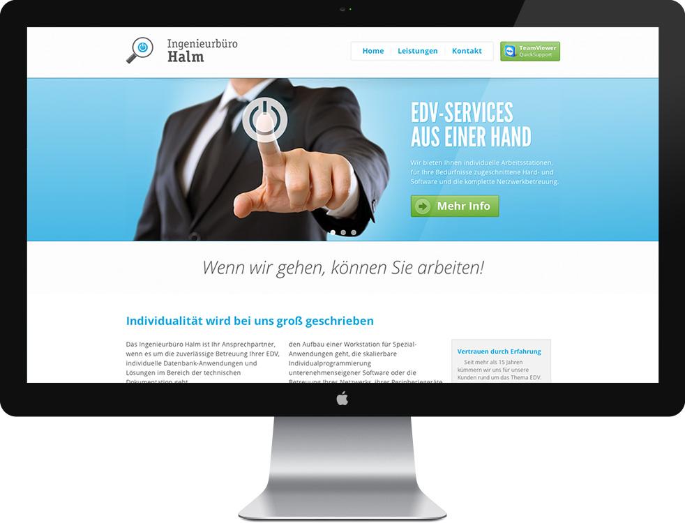 Ingenieurbüro Halm - Website