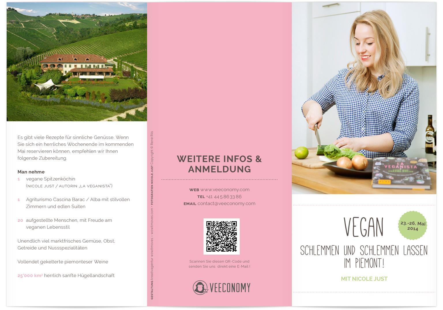 Veeconomy Experiences Flyer