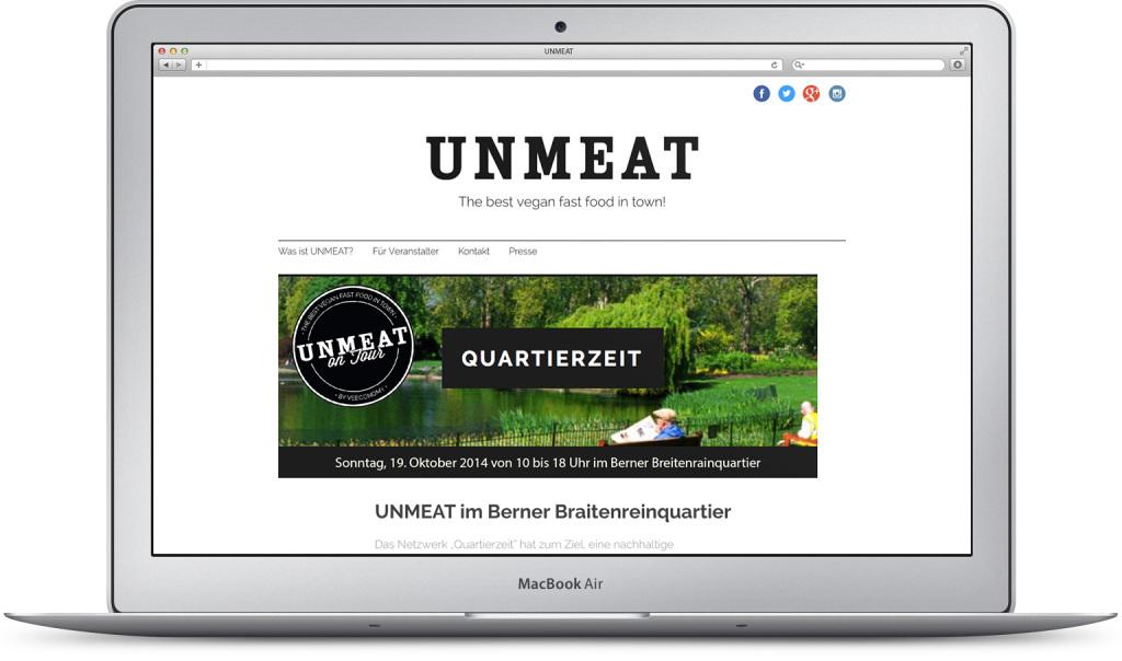Unmeat Responsive Webdesign